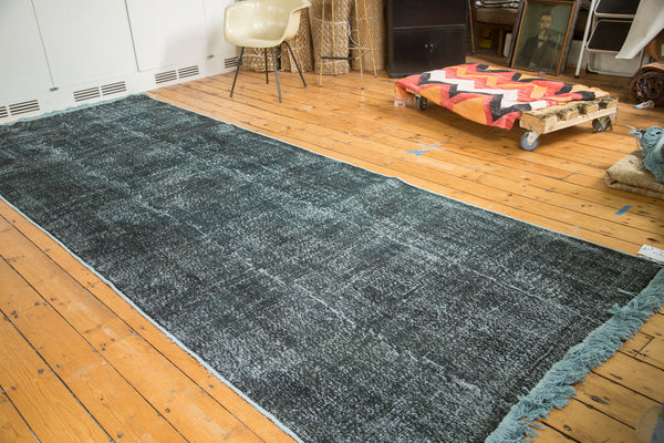 5x13.5 Vintage Overdyed Distressed Gallery Rug Runner - Old New House
