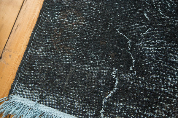 5x11.5 Vintage Overdyed Distressed Gallery Rug Runner - Old New House