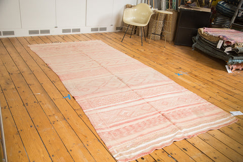 Vintage Embroidered Moroccan Gallery Rug Runner