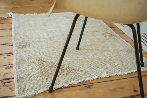 3x4 Vintage Oushak Distressed Square Rug - Old New House