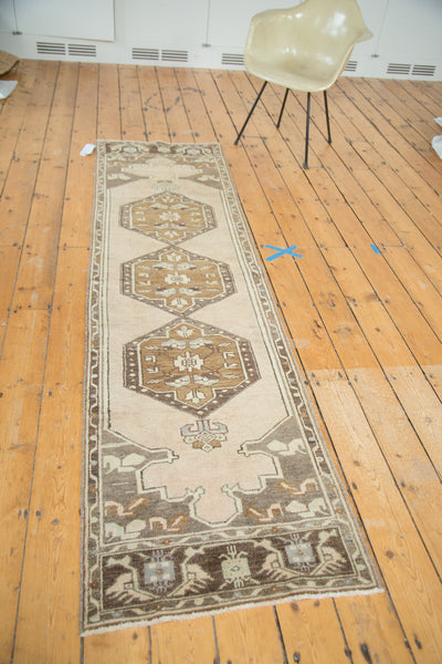 2.5x9 Vintage Oushak Rug Runner - Old New House