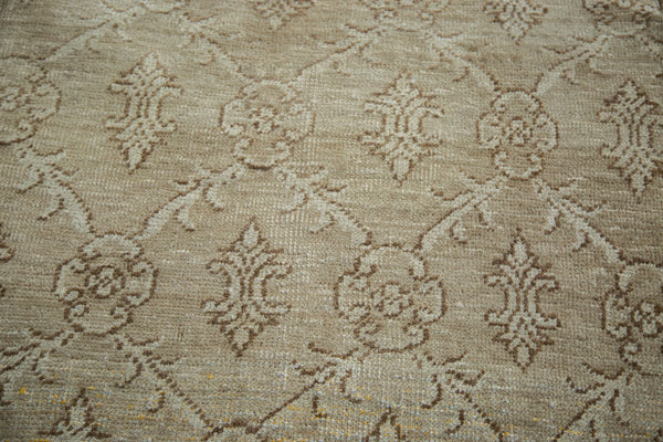 Vintage Oushak Distressed Carpet / Item ee002137 image 4