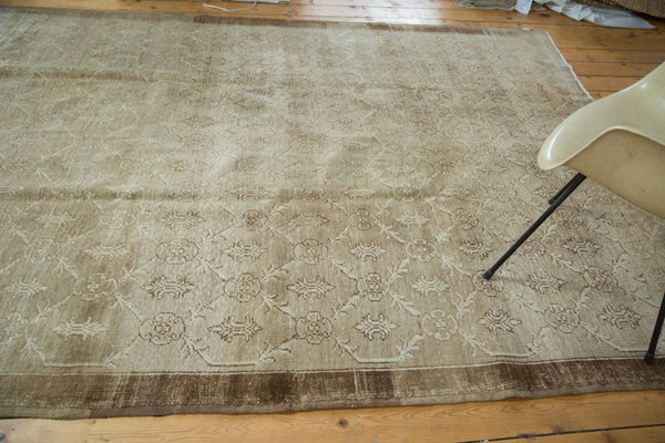 Vintage Oushak Distressed Carpet / Item ee002137 image 5