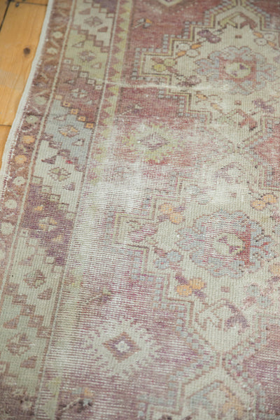 Vintage Oushak Distressed Rug Runner / Item ee002140 image 6