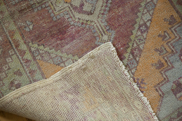 Vintage Oushak Distressed Rug Runner / Item ee002140 image 3