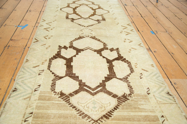 3x10 Vintage Oushak Rug Runner - Old New House