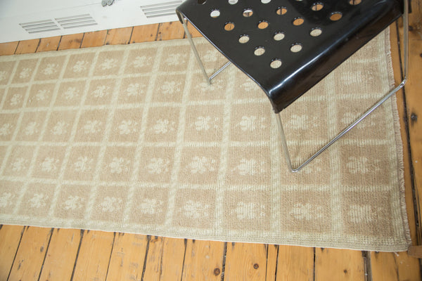 3x7.5 Vintage Oushak Rug Runner - Old New House