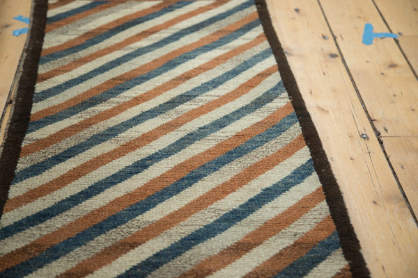 2x7.5 Vintage Gabbeh Rug Runner - Old New House