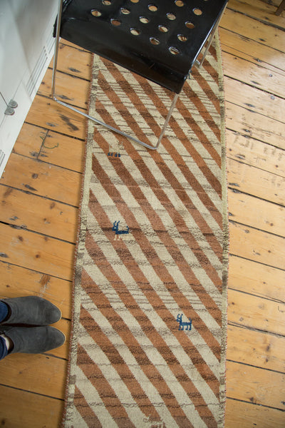 2x7 Vintage Gabbeh Rug Runner - Old New House