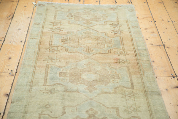 3x9 Vintage Oushak Rug Runner - Old New House