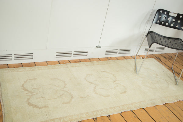 3x7 Vintage Oushak Rug Runner - Old New House