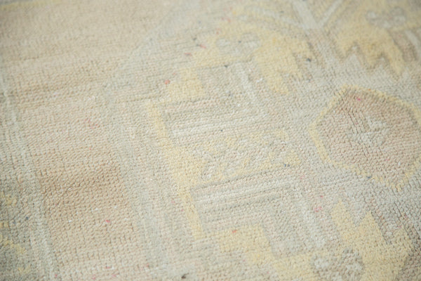3.5x5.5 Vintage Oushak Distressed Rug - Old New House