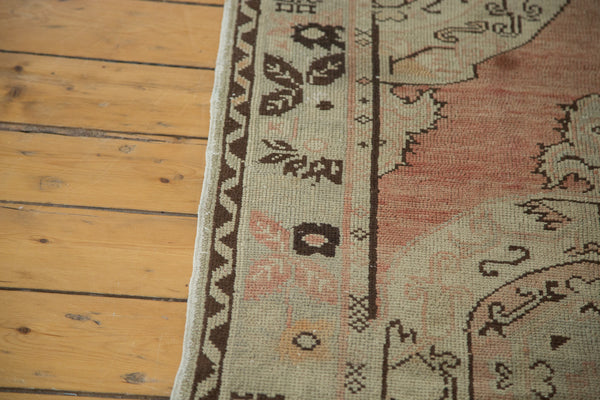 3x6.5 Vintage Oushak Rug Runner - Old New House