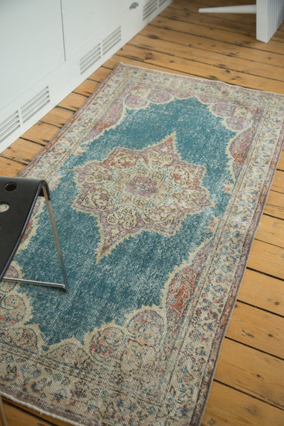 3x6 Vintage Oushak Distressed Rug Runner - Old New House