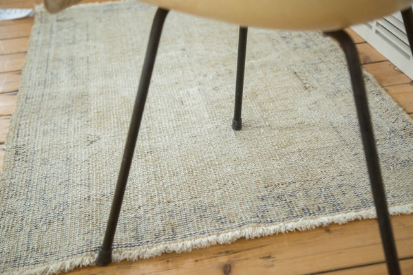 3x4.5 Vintage Oushak Distressed Rug - Old New House