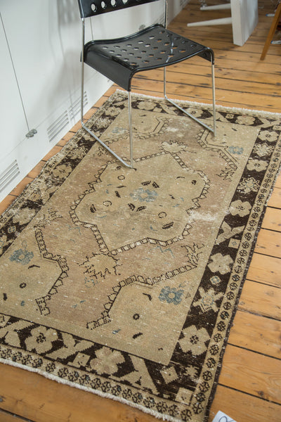 3.5x6 Vintage Oushak Distressed Rug - Old New House