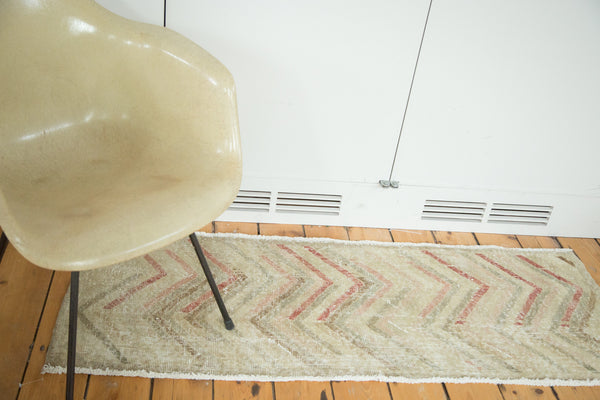 2x5 Vintage Oushak Distressed Rug Runner - Old New House