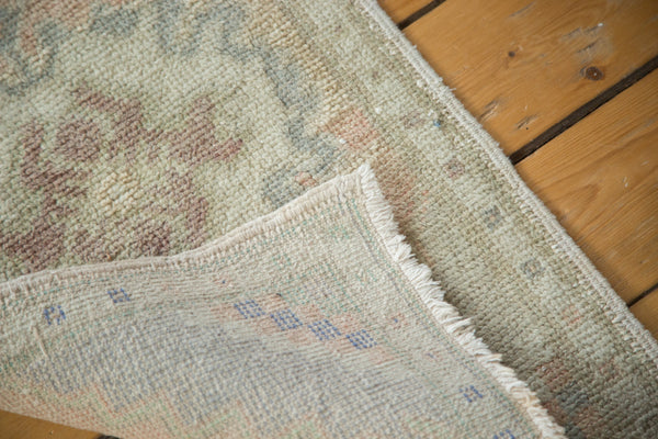1.5x3 Vintage Oushak Rug Mat Runner - Old New House