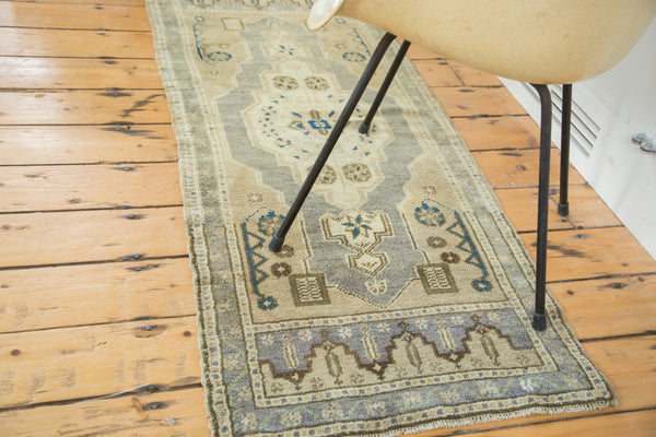 2x5 Vintage Oushak Rug Mat Runner - Old New House
