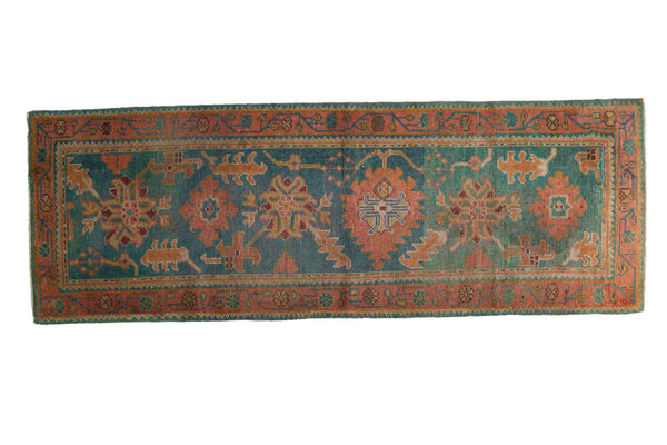 3x8 Vintage Oushak Rug Runner - Old New House