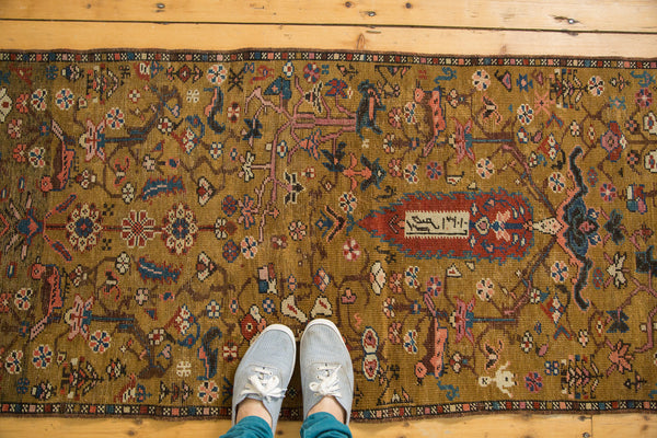 2.5x6.5 Antique Karabagh Rug Runner - Old New House