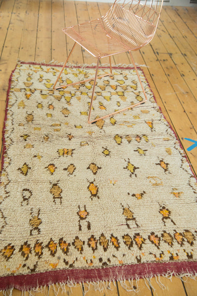 3.5x6.5 Vintage Moroccan Rug - Old New House