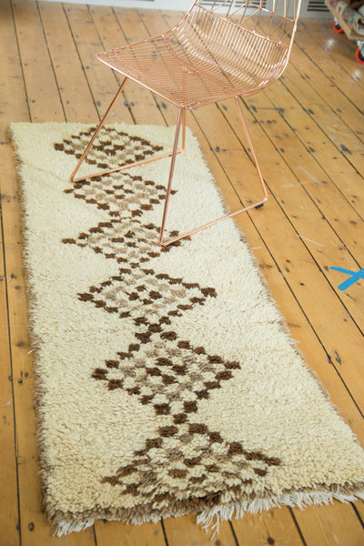 2.5x6 Vintage Moroccan Rug Runner - Old New House