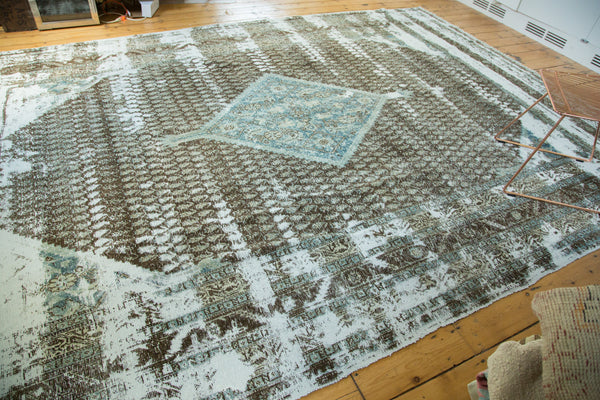 9x13 Antique Distressed Sivas Carpet - Old New House