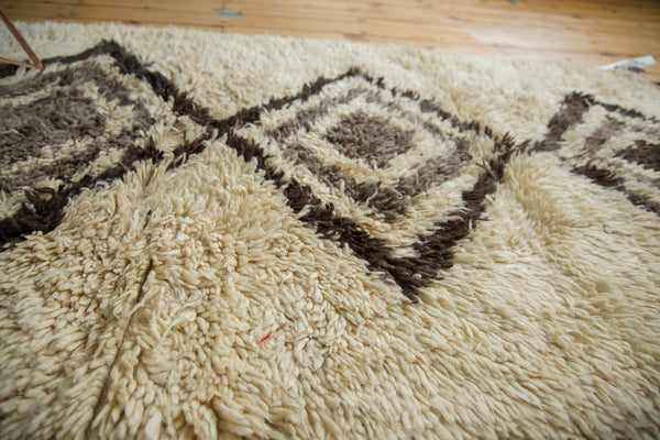 3.5x7.5 Vintage Moroccan Rug Runner - Old New House