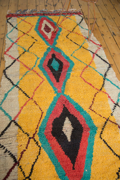 4x8 Vintage Moroccan Rug Runner - Old New House