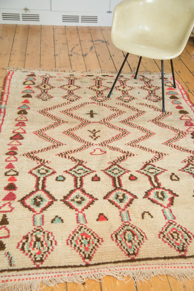 5x7 Vintage Moroccan Rug - Old New House
