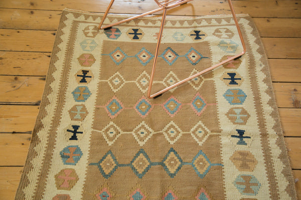 3x4.5 Vintage Kilim Rug - Old New House