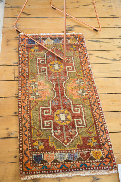 1.5x3.5 Vintage Oushak Rug Runner - Old New House