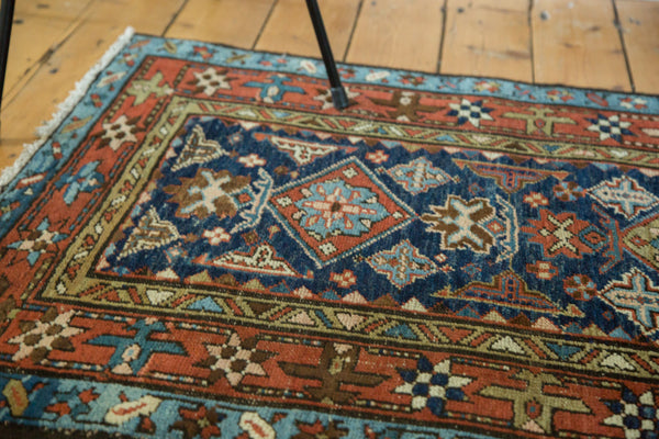 3x4 Vintage Karaja Square Rug - Old New House