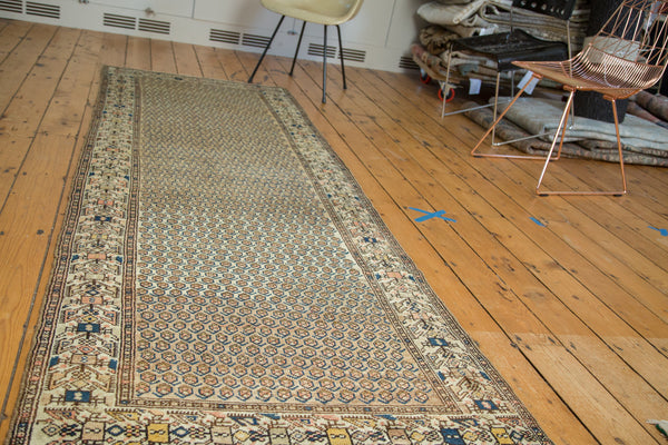 3x9.5 Vintage Malayer Rug Runner - Old New House