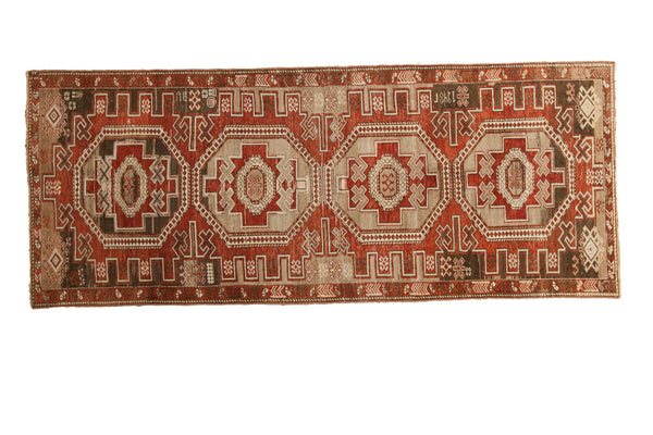 3x8 Distressed Transcaucasian Rug Runner - Old New House