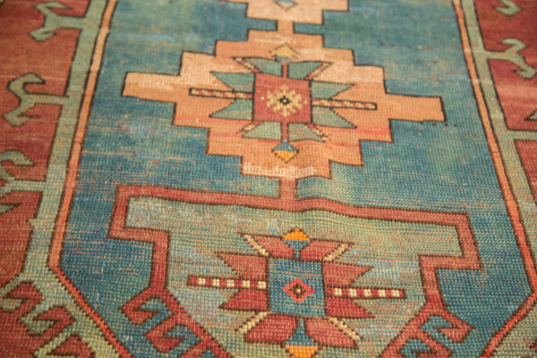3.5x6 Vintage Caucasian Rug - Old New House