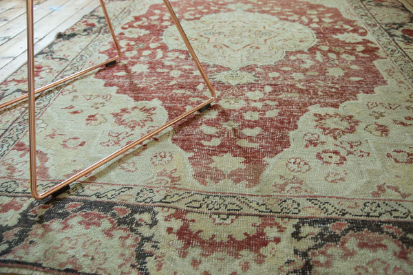 5x7.5 Vintage Distressed Oushak Rug - Old New House