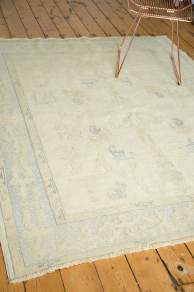 6x7.5 Vintage Oushak Rug - Old New House