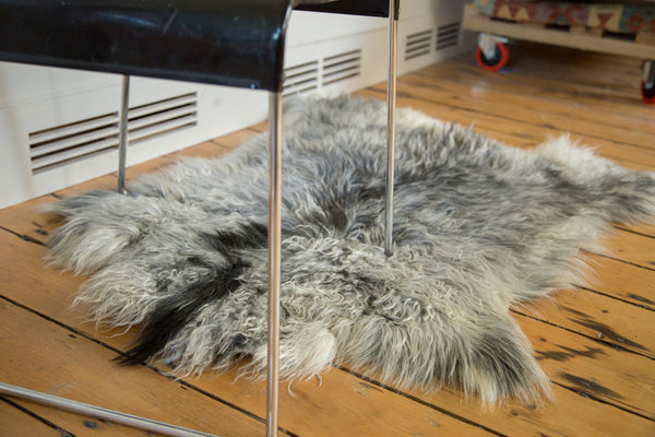 2x3.5 New Angora Skin Rug - Old New House