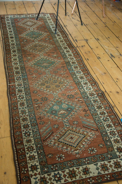2.5x8.5 Vintage Heriz Rug Runner - Old New House