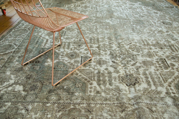 10x13 Vintage Distressed Tabriz Carpet - Old New House