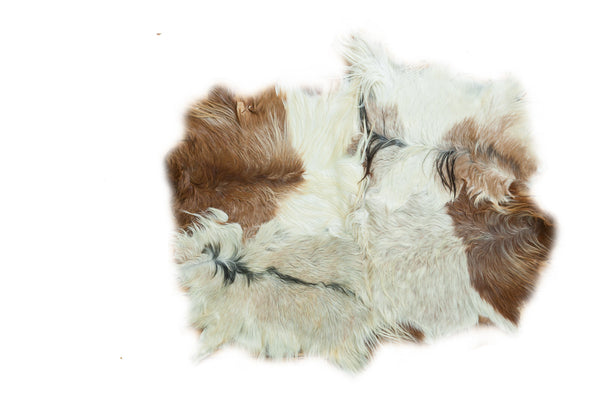 4x5.5 New Angora Skin Rug - Old New House