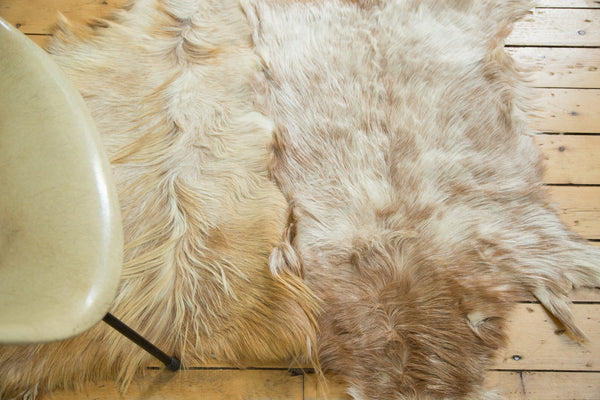 3x4 New Angora Skin Rug - Old New House