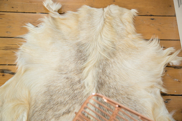 2.5x3 New Angora Skin Rug - Old New House