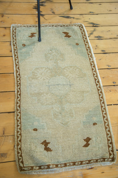 2x3.5 Vintage Oushak Rug - Old New House