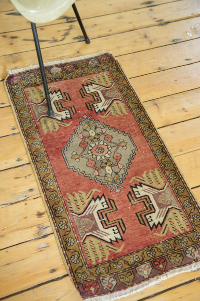 1.5x3 Vintage Oushak Rug Runner - Old New House