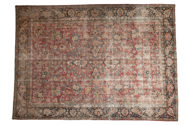 9x13 Vintage Meshed Carpet - Old New House