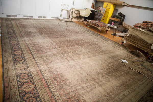 11x18 Distressed Kaisari Carpet - Old New House