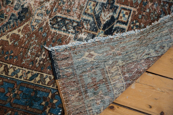 2.5x10 Distressed Persian Karaja Rug Runner - Old New House